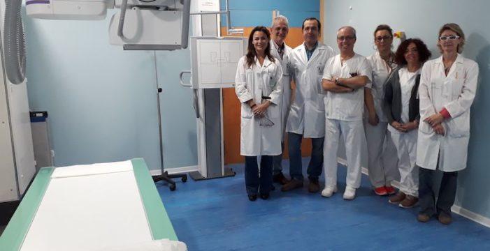 El Hospital de Valme instala en sus Urgencias una sala de Radiología Digital Directa Robotizada