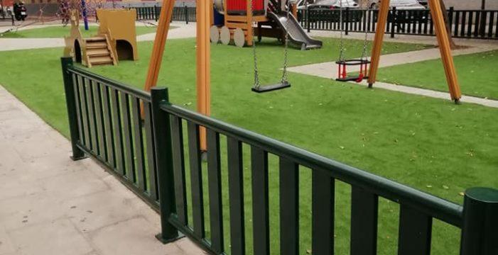 Renovación integral del trianero parque infantil de la calle Arcángel San Miguel