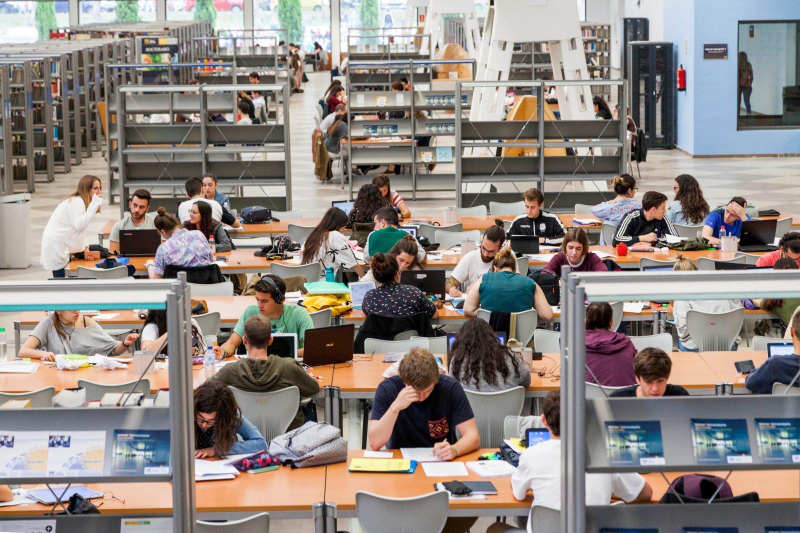 La biblioteca de la UPO, segunda más eficiente de España en el ranking Secaba-Rank-Universitarias