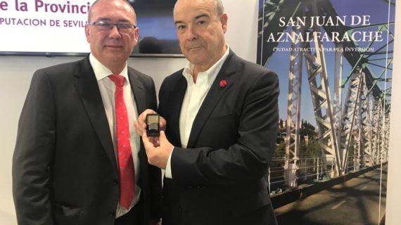 Antonio Resines realizará un programa sobre turismo que se grabará en San Juan de Aznalfarache