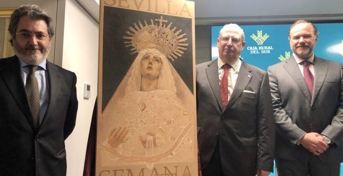 La Virgen de la Quinta Angustia protagoniza el cartel de Semana Santa de Sevilla