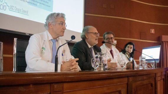 El Virgen del Rocío conmemora el medio siglo de su departamento de cirugía general