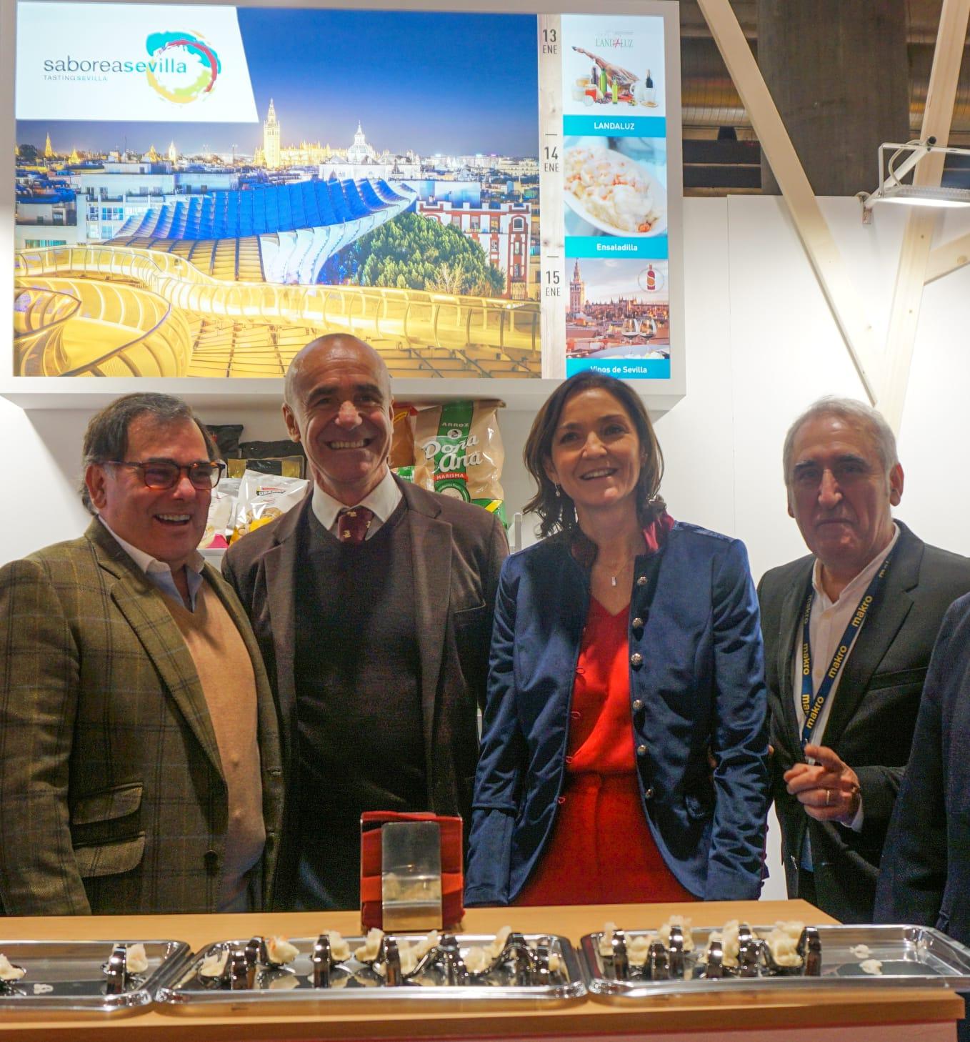 Cocina tradicional y de vanguardia junto con la agroindustria sevillana conforman la oferta de Sevilla en el Madrid Fusión