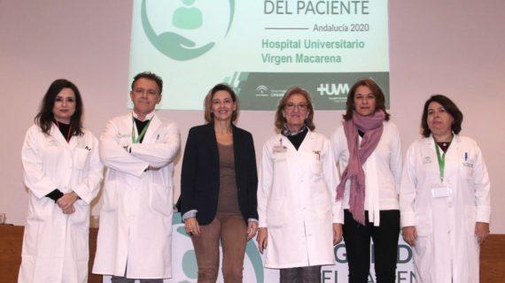 El Macarena acoge la presentación de la nueva estrategia para la seguridad del paciente de Andalucía