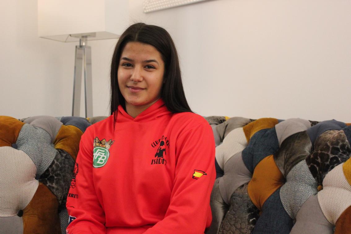 Mari Ángeles García, una marchenero presente y futuro del boxeo español