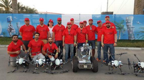 La US, en la competición internacional de drones en Abu Dabi