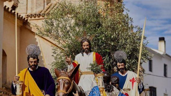 'La borriquita', imagen del cartel de la Semana Santa de Estepa