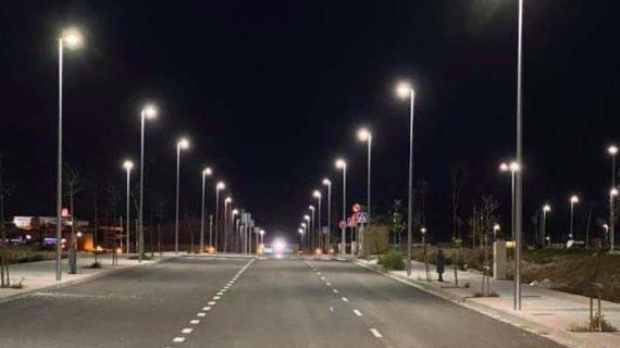 Casi un millón de euros para iluminar la noche de Herrera con tecnología LED
