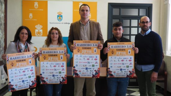 Peluqueros de toda España se concentrarán en Lebrija por una causa solidaria