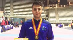 El tomareño Álvaro Leo, subcampeón de España absoluto en taekwondo