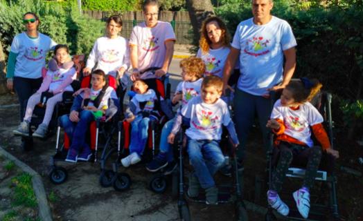 Los niños de Espartinas corren por sus compañeros con enfermedades raras