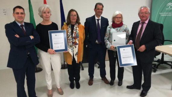 Los hospitales de Écija y Utrera reciben la certificación de calidad por la Agencia de Calidad Sanitaria de Andalucía