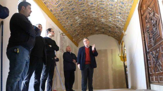 La Archidiócesis de Sevilla financia la restauración del camarín de Consolación en Utrera
