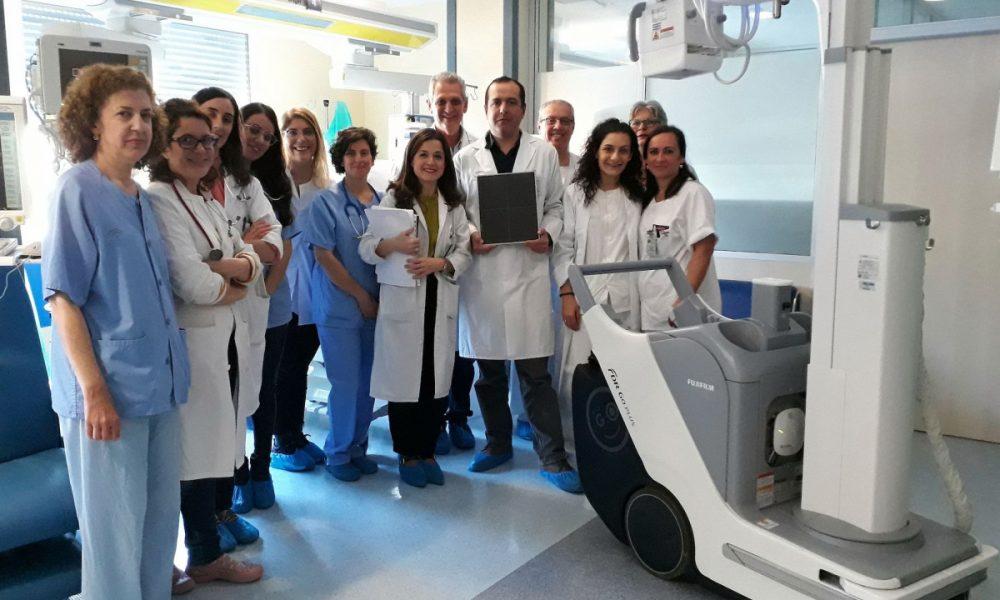 Valme mejora sus equipos diagnósticos para estudios de pacientes encamados