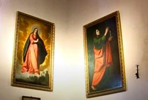 AionSur Zurbaran-Marchena-2-300x203 Un tesoro en forma de cuadros en una iglesia de Marchena Cultura Marchena