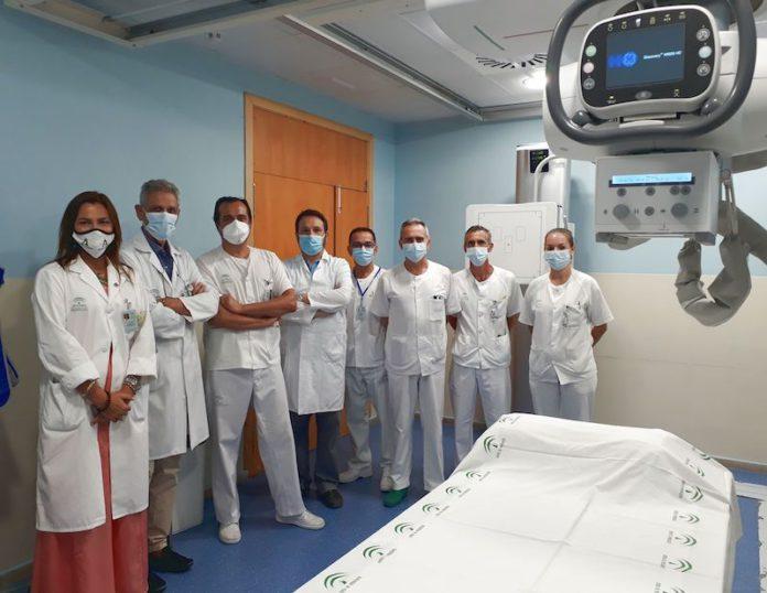 Sala de Radiología Digital en Urgencias.