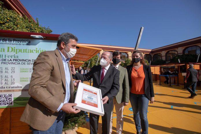 La XII Feria de Productos Locales Sabores de la Provincia cosecha unas 3.500 visitas y