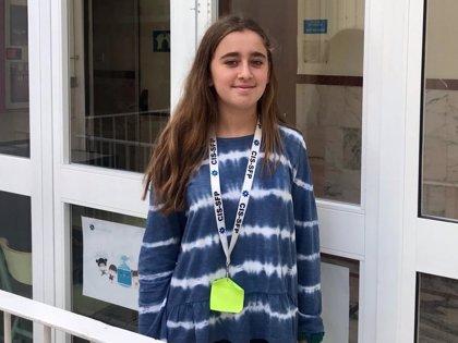 Una alumna del colegio San Francisco de Paula gana una competición mundial de cálculo mental.
