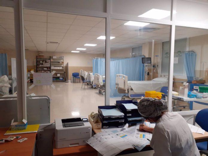 Urgencias del Hospital de Puerto Real.