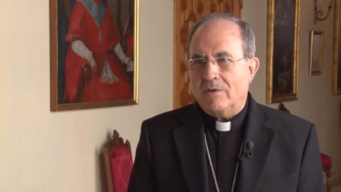 Monseñor Asenjo, arzobispo metropolitano de Sevilla.