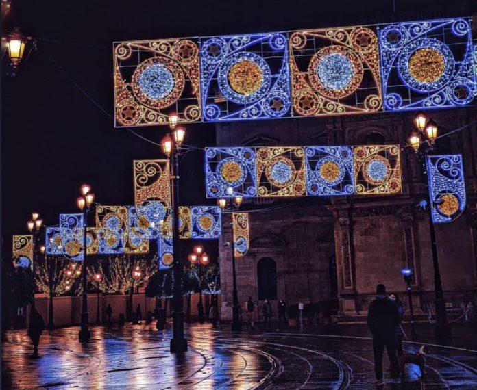Sevilla en Navidad.