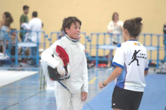 La Escuela de Esgrima de Tomares, entre los mejores equipos de Andalucía y España