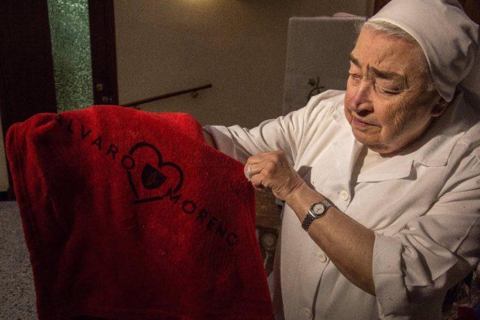El comedor social del Pumarejo recibe 24.500 euros gracias a las 'Mantas con Alma'