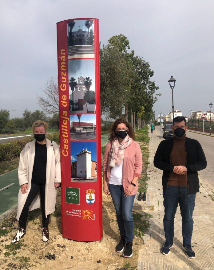 Impulso de la promoción de los municipios sevillanos con la nueva señalización turística