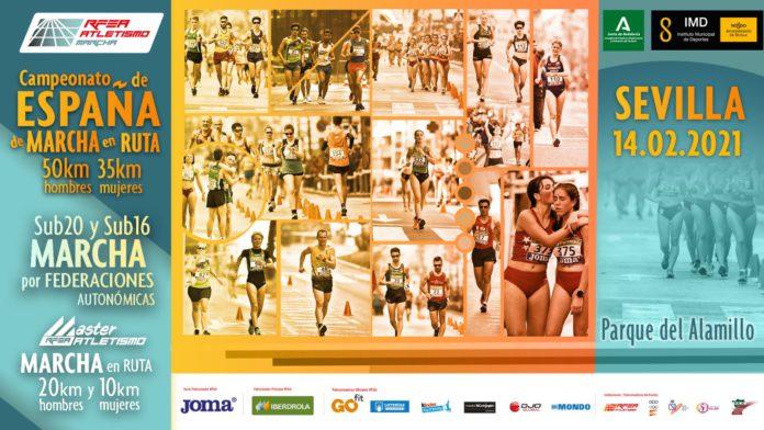 El Parque del Alamillo acoge el Campeonato de España de Marcha en Ruta