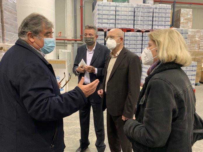 El Grupo Social ONCE hace su segunda entrega de 5.000 kilos de alimentos