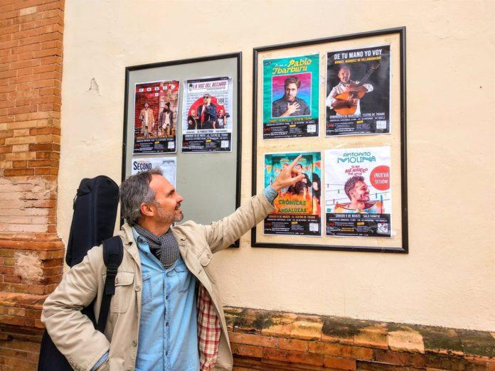 Manuel Márquez presenta su último trabajo en el Teatro Triana