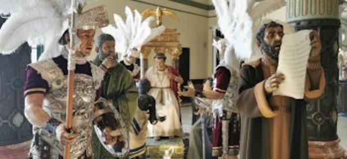 'Escenas de la Pasión', la muestra que reúne por primera vez las figuras secundarias de ocho misterios de la Semana Santa sevillana