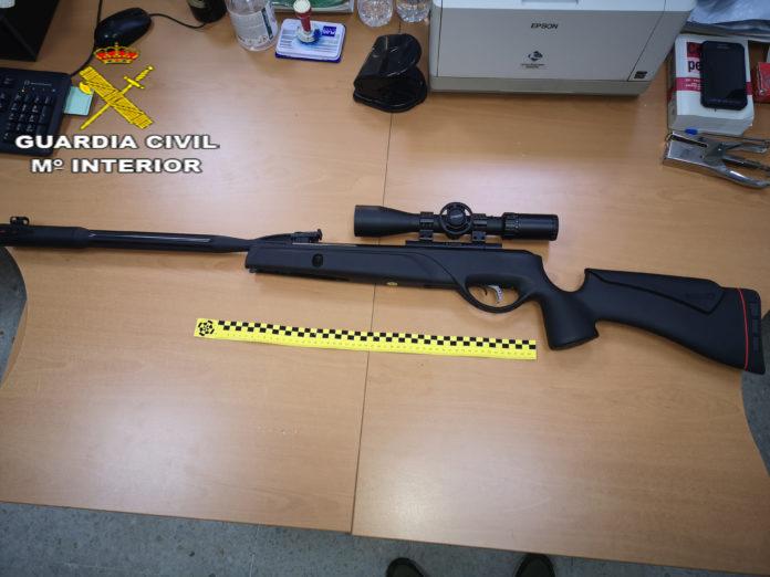 Investigan a una persona por disparar a aves en Umbrete