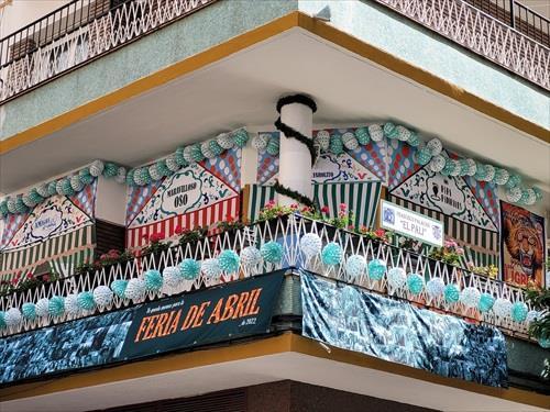 Un balcón en Asunción y un escaparate de Pureza, ganadores del I Concurso por la Feria de Abril