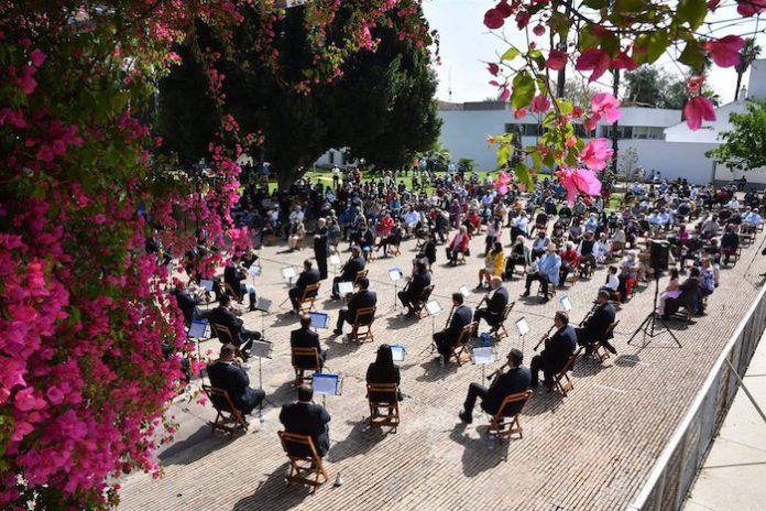 La banda de música del Maestro Tejera ofrece en Tomares un concierto de pasodobles taurinos
