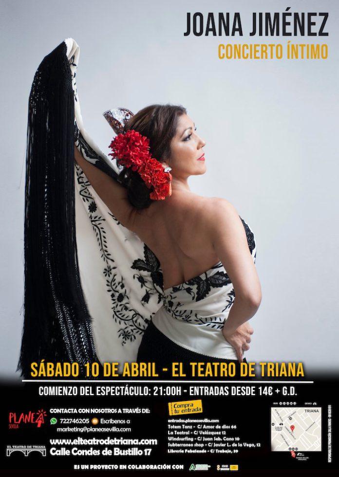 Joana Jiménez arrasará con su arte en el Teatro de Triana