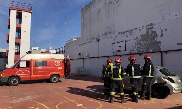 Utrera prevé incorporar una unidad de drones a su cuerpo de bomberos