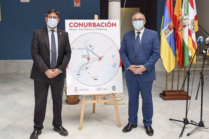 Utrera y Los Palacios unen sus fuerzas para crear una gran aglomeración urbana en el sur de la provincia