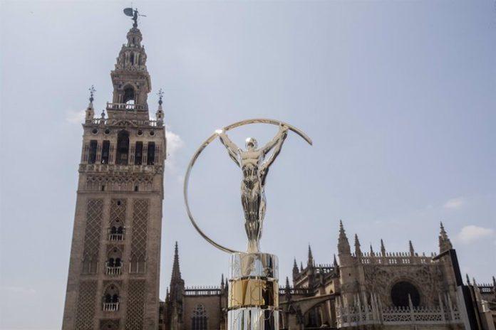 Sevilla se promociona en los premios del deporte Laureus, grabados en zonas emblemáticas