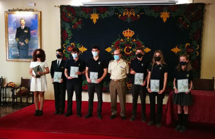 Entrega de Premios a alumnos del Colegio Internacional Europa con motivo del Centenario de La Legión