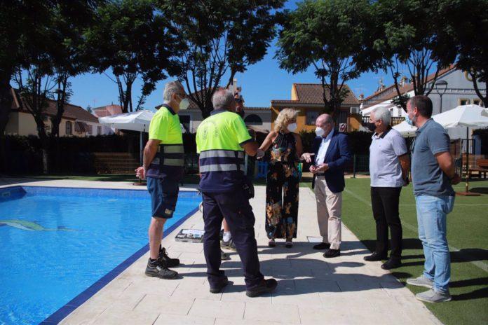 Castilleja de la Cuesta dispondrá de una nueva zona de agua en el Parque de Los Olivos