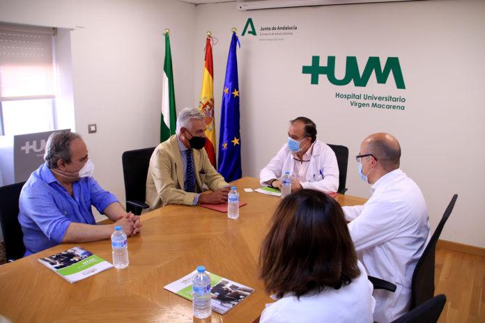 El Virgen Macarena suscribe un convenio de colaboración con la Asociación ELA Andalucía